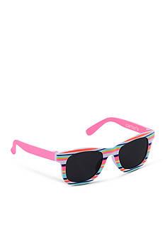 Carter's Stripe Wayfarer Sunglasses