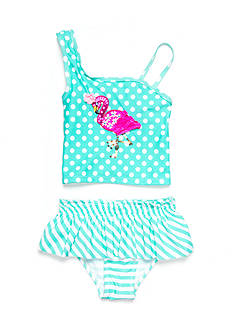 Flapdoodles Flamingo 2 Piece Toddler Girls