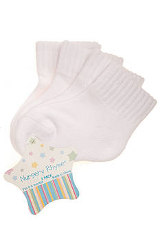Nursery Rhyme® 2-Pack Seamless Quarter Cushion Socks