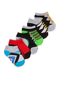 Nursery Rhyme 6-Pack Athletic Sock 6-12 Months