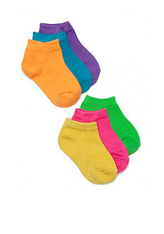 Nursery Rhyme Neon Athlete Socks Toddler Girls