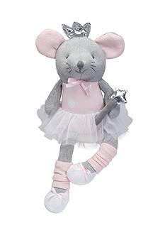 Elegant Baby Ballerina Mouse Knittie Bittie Toy