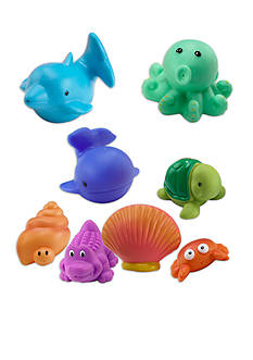 Elegant Baby Sea Animal Squirtie Toy