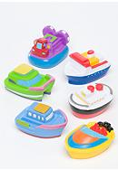 Elegant Baby Set of Six Squirty Boats