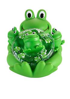 Elegant Baby Frog Bath Set