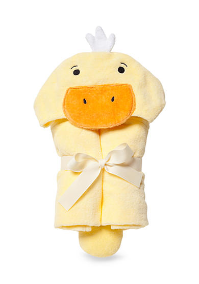 Elegant Baby Yellow Ducky Baby Bath Wrap