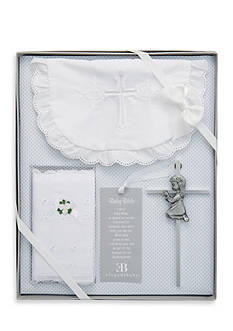 Elegant Baby 4-Piece Christening Gift Set