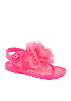 Nursery Rhyme® Floral Jelly Sandal