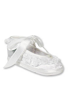 Nursery Rhyme® White Slipper Infants
