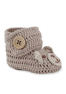 Nursery Rhyme® Crochet Bear Paw Bootie