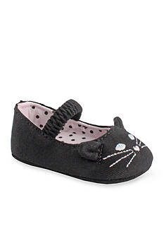 Nursery Rhyme Black Cat Slipper