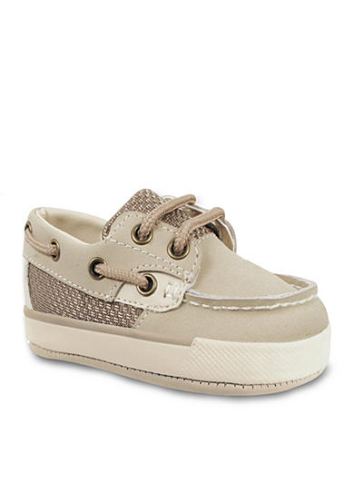 Nursery Rhyme® Leather Deck Lace-Up Boat Shoe