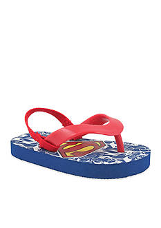 Nursery Rhyme® Superman® Flip Flop