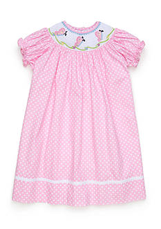 Marmellata Smocked Butterfly Dress Toddler Girls