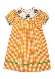 Marmellata Turkey Smock Dress Toddler Girls