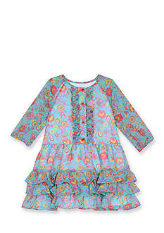 Marmellata Chiffon Floral Dress Toddler Girls