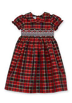 Marmellata Taffeta Smock Dress Toddler Girls
