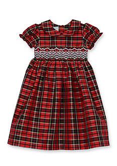 Marmellata Taffeta Smock Dress Toddler Girls