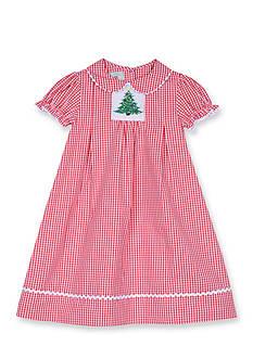Marmellata Gingham Smock Dress Toddler Girls