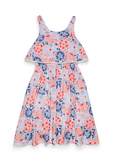 Lucky Brand Floral Tiered Dress Toddler Girls