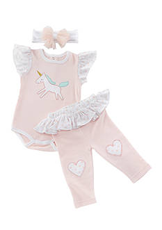 Baby Aspen™ Simply Enchanted 3-Piece Outfit Set