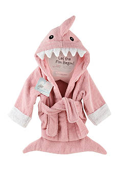 Baby Aspen™ Let The Fin Begin Hooded Spa Robe