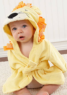 Baby Aspen™ Big Top Bath Time Lion Hooded Spa Robe