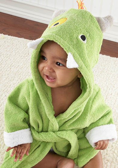 Baby Aspen™ My Little Monster Hooded Spa Robe