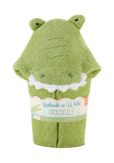 Baby Aspen™ Splash-A-While Crocodile Hooded Spa Towel