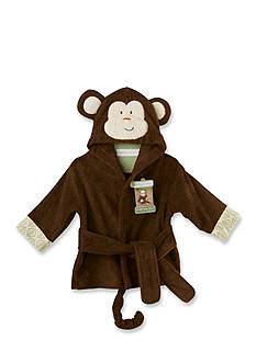 Baby Aspen™ Born To Be Wild Monkey Hooded Spa Robe