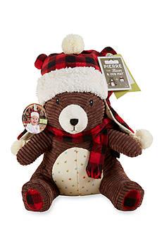 Baby Aspen™ Pierre the Bear Plush Plus Hat Gift Set