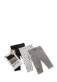 Baby Aspen™ 3 Pair Trendy Baby Leggings Set