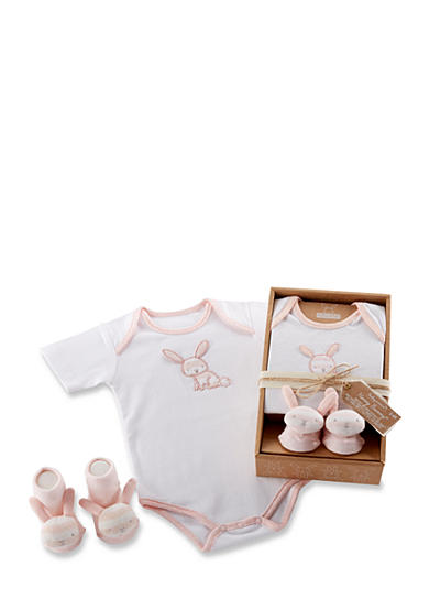 Baby Aspen™ Honey Bunny Two-Piece Layette Set