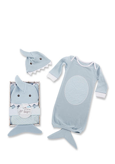 Baby Aspen™ Let The Fin Begin Two-Piece Layette Set