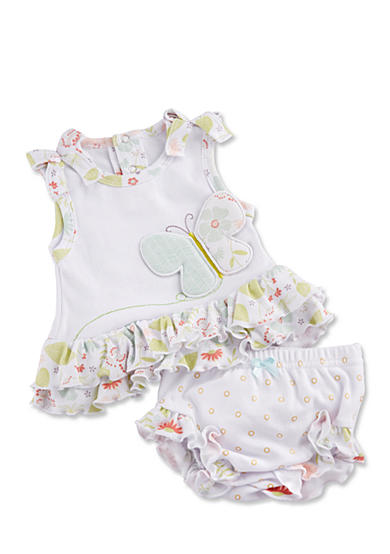 Baby Aspen™ Butterfly Kisses Tunic With Bloomer
