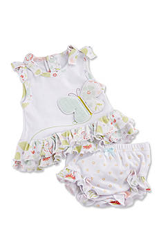 Baby Aspen™ Butterfly Kisses Tunic With Bloomer Set