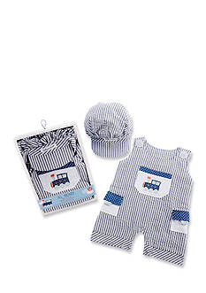 Baby Aspen™ All Aboard! Romper And Cap Set