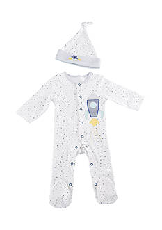 Baby Aspen™ Cosmo Tot Spaceship 2-Piece Pajama Gift Set
