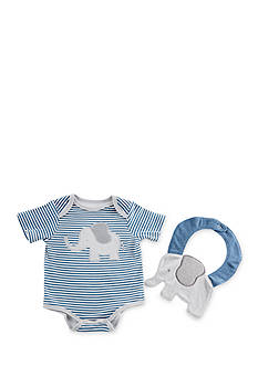 Baby Aspen™ Little Peanut Elephant Layette and Bib Gift Set
