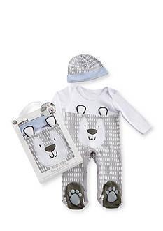 Baby Aspen™ Trendy Baby Bear 2-Piece Pajama Gift Set