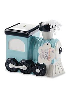 Baby Aspen™ Choo Choo Change Ceramic Train Bank