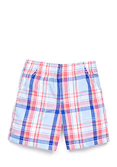 Nursery Rhyme Play™ Plaid Pull-On Shorts