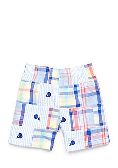 Nursery Rhyme Play™ Patchwork Whale Shorts