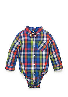 Nursery Rhyme® Plaid Button Down Shirt Baby/Infant Boy