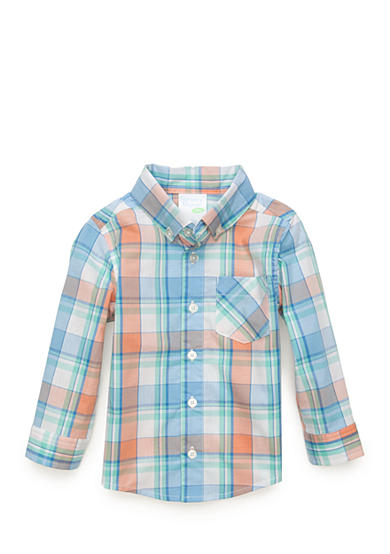 Nursery Rhyme® Long Sleeve Plaid Top