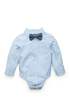 Nursery Rhyme® Striped Shirt With Bow-Tie