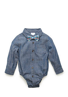 Nursery Rhyme® Chambray Bodysuit With Bow-Tie