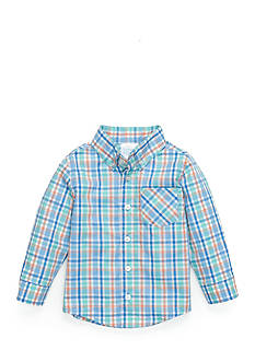 Nursery Rhyme Pastel Plaid Shirt