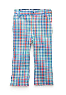 Nursery Rhyme® Plaid Canvas Pants