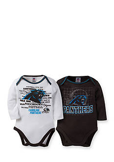 Lamaze NFL Carolina Panthers 2-Pack Bodysuit Set